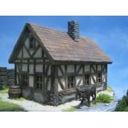 Ziterdes: Half-Timbered House pas cher