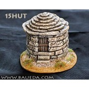 Small round stone hut pas cher