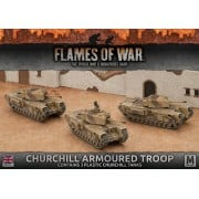 Churchill Armoured Troop (Plastic) (copie)