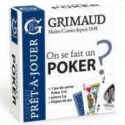 Grimaud - Coffret Pret à Jouer : Poker