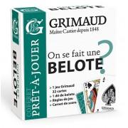 Grimaud - Coffret Pret à Jouer : Belote