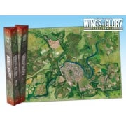 Terrain Mat Tissue - Wings of Glory : Game Mat City - 68x98