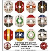 Carthaginian shield designs 3 pas cher