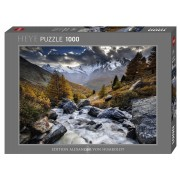 Puzzle - Mountain Stream - 1000 Pièces