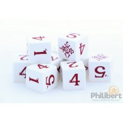 Sins RPG - Dice Set : White