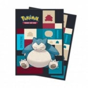 65 Sleeves Standard - Pokemon : Snorlax