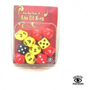 The Red Book of The Elf King Dice Set pas cher