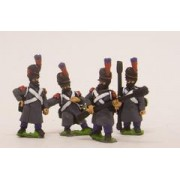 French: Footguard Artillery in Greatcoat & Bearskin pas cher
