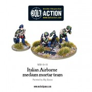 Bolt Action - Italian Airborne Medium Mortar Team