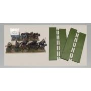 Limber / Wagon Bases (230 x 50mm & 210 x 50mm)