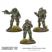 Konflikt 47 - British Galahad Armoured Infantry Officers