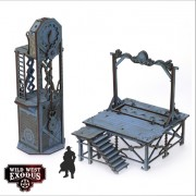 Wild West Exodus - Red Oak Gallows and Clock Tower