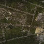 Playmats - Mousepad - Mystery Island - 48''x48''