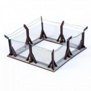 X4 Wire Corner Fences