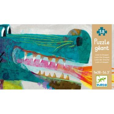 Puzzle géant Léon le dragon