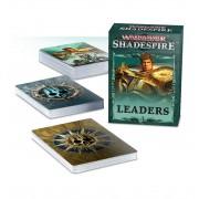 Age of Sigmar : Warhammer Underworld Shadespire - Leaders Cards