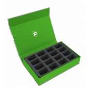 Feldherr Magnetic Box green for 16 Blood Bowl miniatures - 2016 Edition