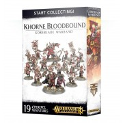 Age of Sigmar : Start Collecting - Khorne Bloodbound Goreblade Warband
