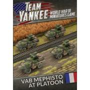 Team Yankee - French VAB Mephisto Anti-tank Platoon