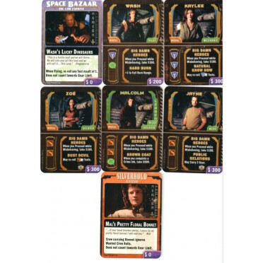 Firefly : The Game - Big Damn Heroes Card Set