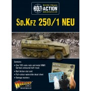 Bolt Action - German - Sd.Kfz 250/1 Neu Half-Track