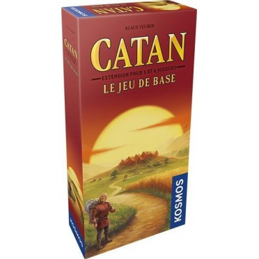 Catan - Extension 5-6 joueurs