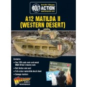 Bolt Action - British A12 Matilda II (Western Desert)