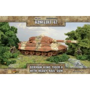 Konflikt 47 - King Tiger-X with Heavy Rail Gun