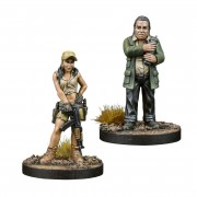 The Walking Dead : AOW - Rosita & Eugene Booster