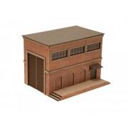 Ziterdes: Warehouse, Clinker Brick Facade